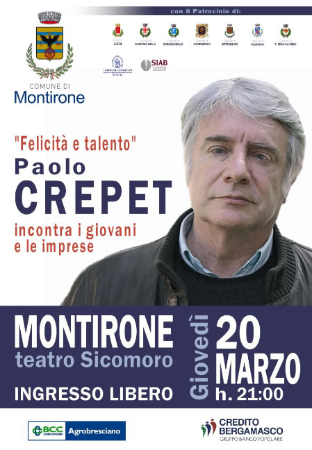Paolo Crepet a Montirone
