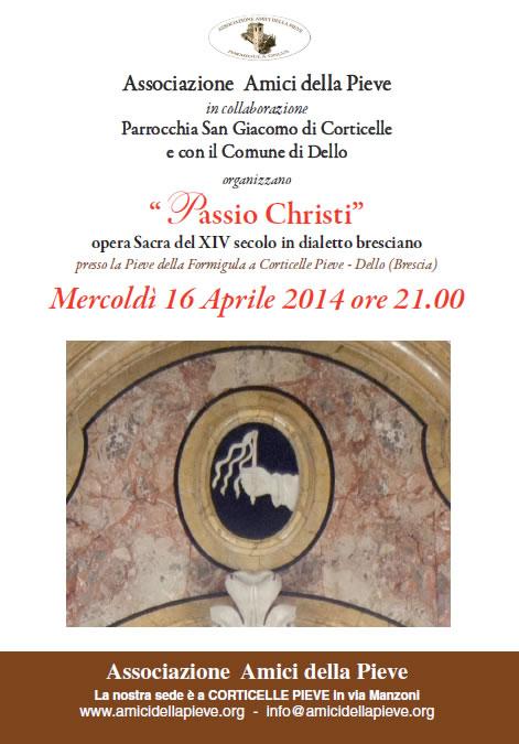Passio Christi a Corticelle