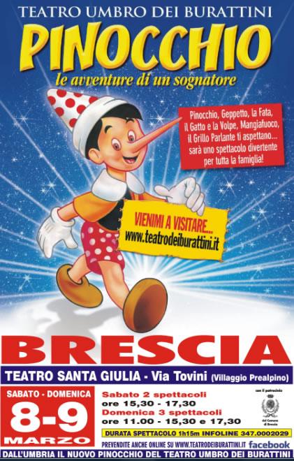 Pinocchio al Villaggio Prealpino