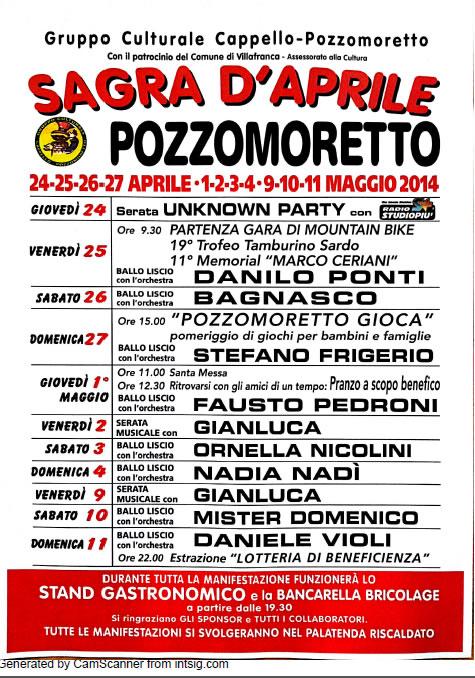 Sagra d'Aprile a Pozzomoretto (VR)