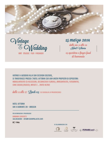 Vintage e Wedding all'Hotel Vittoria