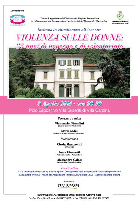 Violenza sulle Donne a Villa Carcina