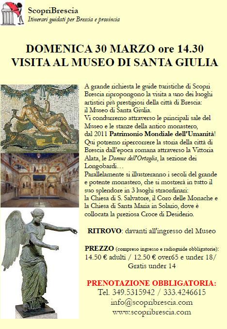 Visita al Museo di Santa Giulia con ScopriBrescia