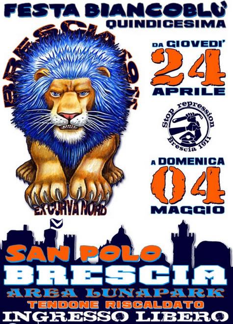 15° Festa BiancoBlu a Brescia