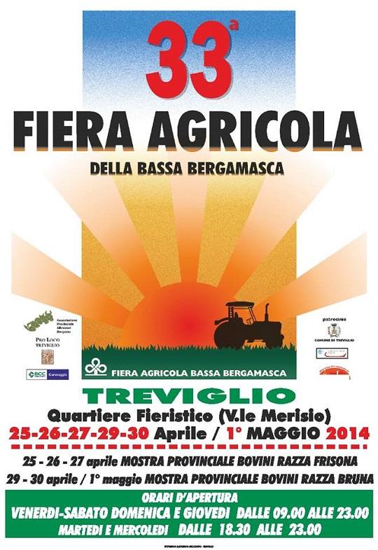 33 Fiera Agricola della Bassa Bergamasca 2014 Treviglio (BG)