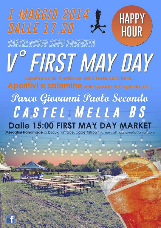 5 First May Day Castelmella