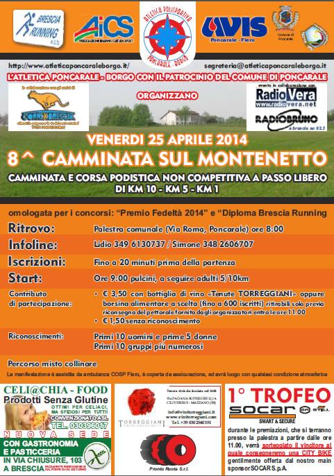 8 Camminata sul Montenetto