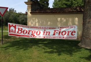 Borgo in Fiore a Castellaro Lagusello (MN)