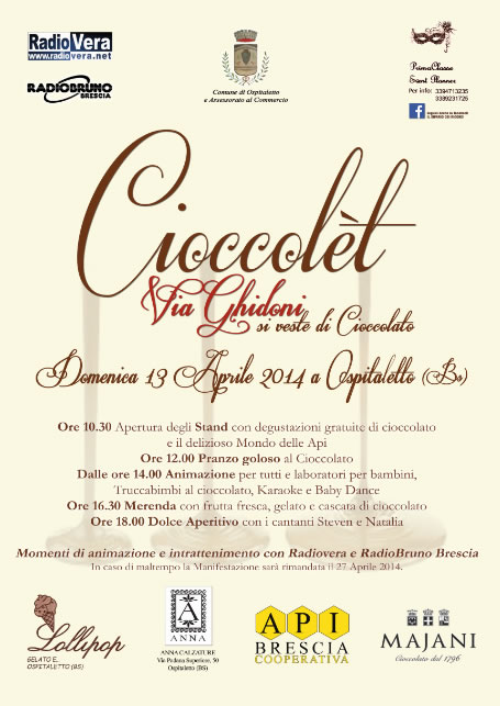 Cioccolet a Ospitaletto