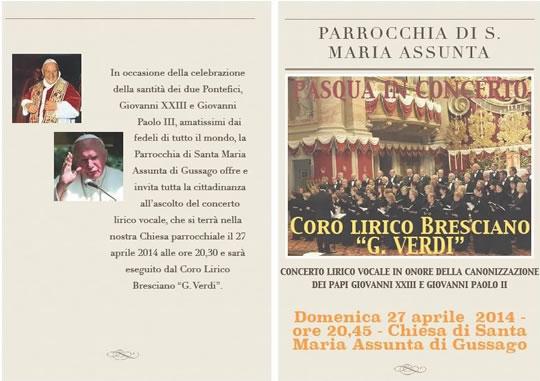Concerto Lirico a Gussago