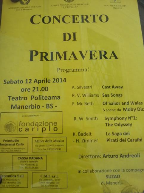 Concerto di Primavera a Manerbio