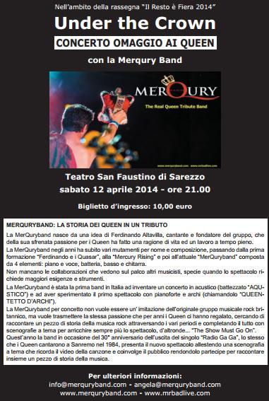 Concerto omaggio ai Queen a Sarezzo