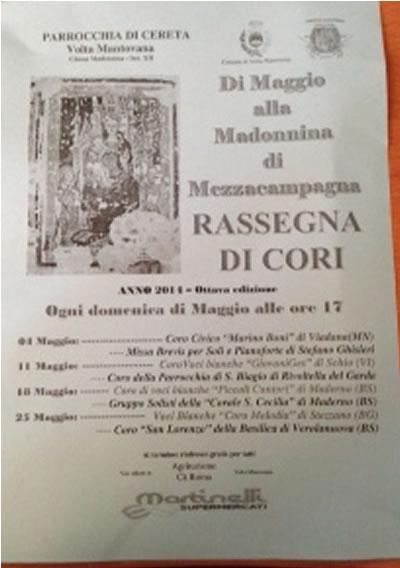 Di Maggio alla Madonnina di Mezzacampagna