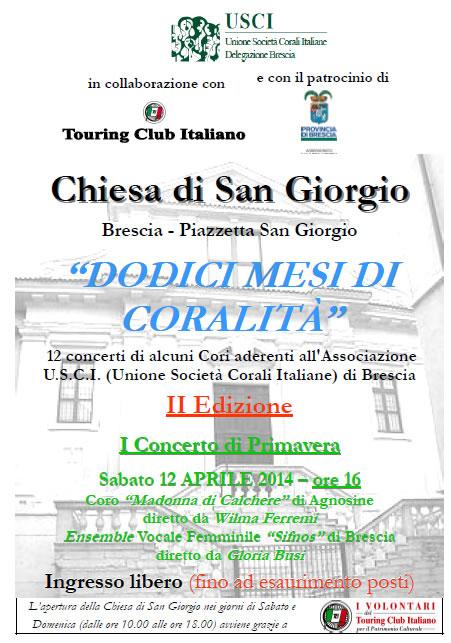 Dodicimesi di Coralità a Brescia