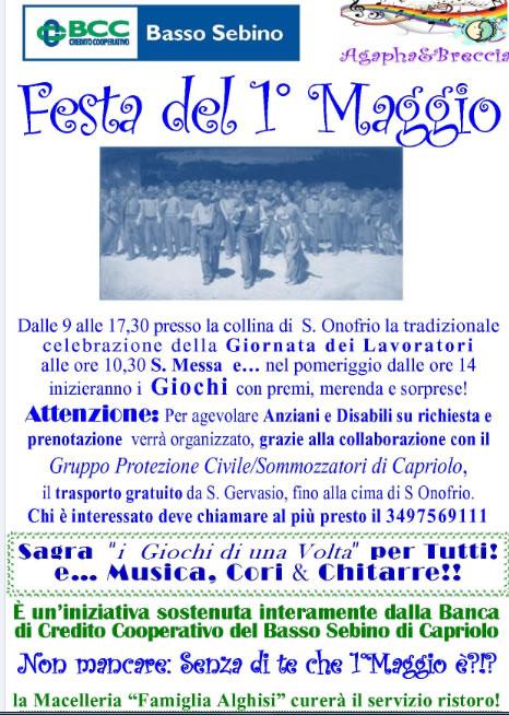 Festa del 1° Maggio a Capriolo