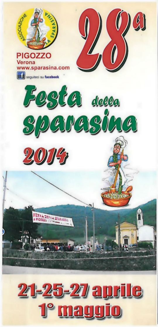 Festa della Sparasina Pigozzo - Locandina