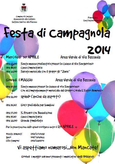 Festa di Campagnola a Concesio