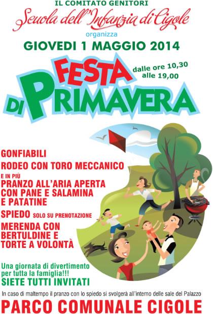 Festa di Priavera a Cigole