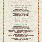 Fiera di San Pancrazio 2014 Montichiari PROGRAMMA 1