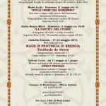 Fiera di San Pancrazio 2014 Montichiari PROGRAMMA 6