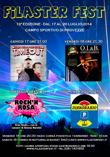 Filaster Fest a Provezze