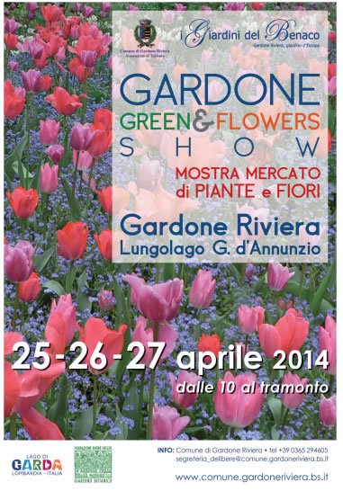 Green e Flowers Show a Gardone Riviera