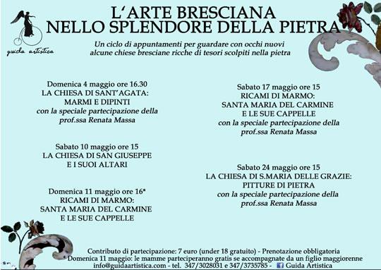 L'Arte Bresciana nello Splendore della Pietra con Guida Artistica