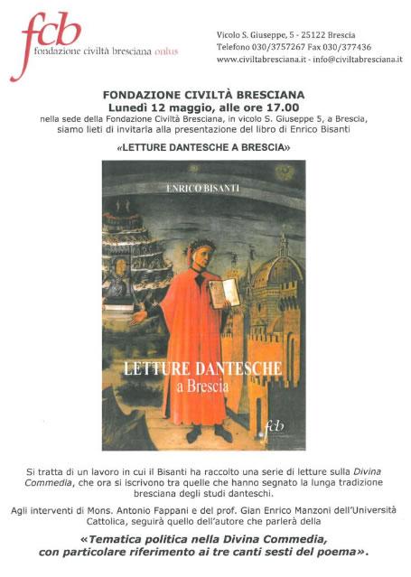 Letture Dantesche a Brescia
