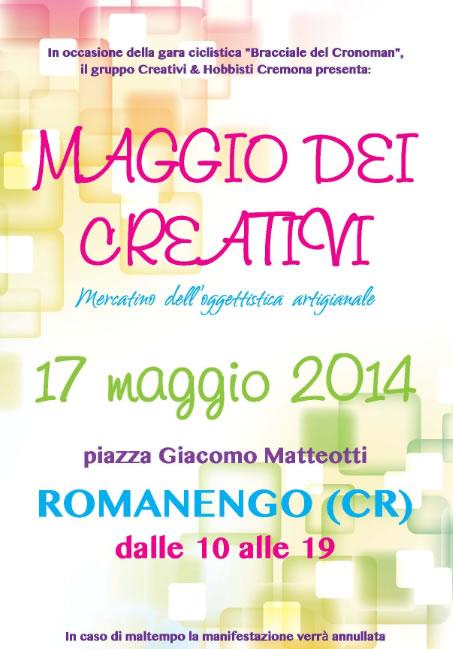 Maggio dei Creativi a Romanengo (CR)