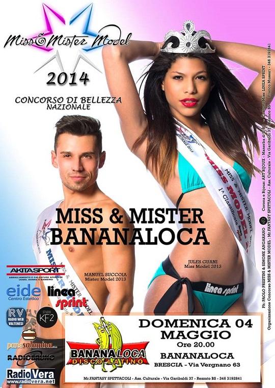 Miss & Mister BananaLoca 2014 Brescia