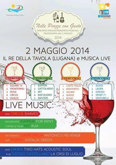 Nelle piazze con gusto 2014 Desenzano