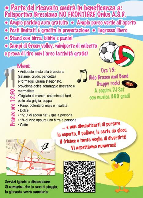Pasquetta Alternativa a Brescia