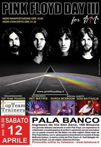 Pink Floyd Day a Brescia