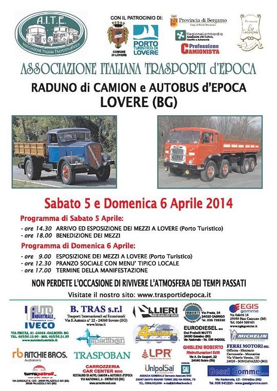 Raduno Camion e Autobus d' Epoca a Lovere (BG)