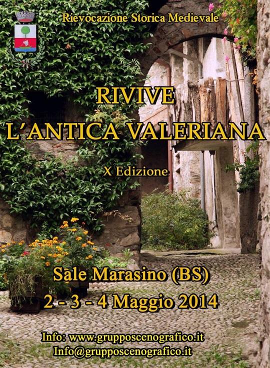 Rivive l'Antica Valeriana 2014 Sale Marasino