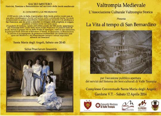 Valtrompia Medievale a Gardone VT