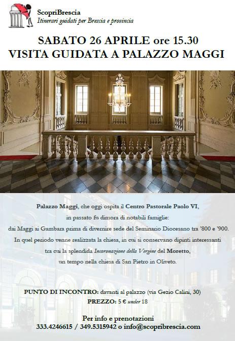 Visita Guidata a Palazzo Maggi con ScopriBrescia