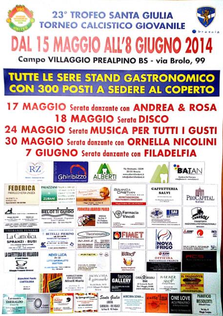 23° Trofeo Santa Giulia al Vill Prealpino