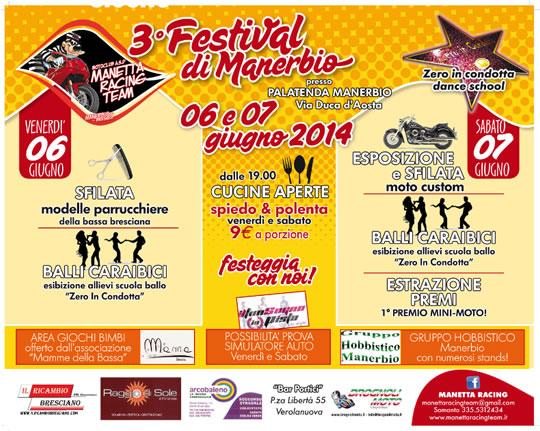 3 Festival di Manerbio