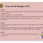 Venerdi 30 Maggio 2014