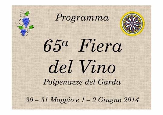 65 Fiera del Vino Polpenazze Del Garda 2014