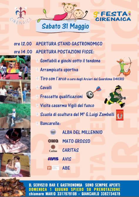 9 Festa Cirenaica in Valle Gardone
