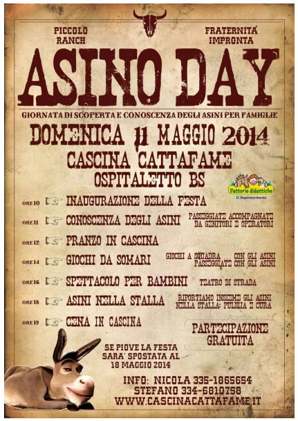 Asino Day a Ospitaletto