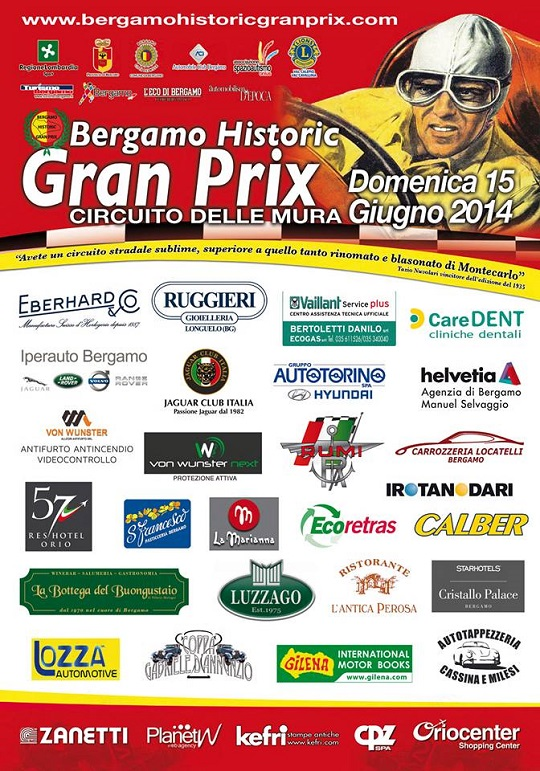 Bergamo Historic Grand Prix 2014
