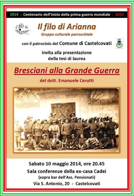 Bresciani alla Grande Guerra a Castelcovati