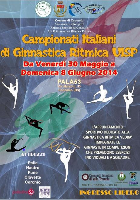 Campionati Italiani di Ginnastica Ritmica a Concesio
