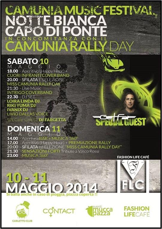 Camunia Music Festival 2014 Capo di Ponte