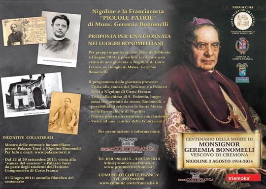 """CONCERTO """"OMAGGIO A MONS. GEREMIA BONOMELLI"""