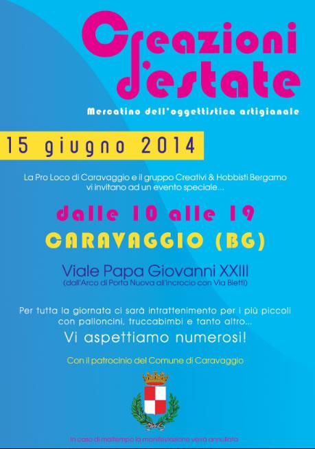 Creazioni d'Estate a Caravaggio (BG)