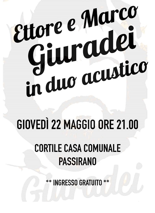 Ettore Giuradei Passirano 2014